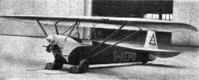 Luton Minor (G-AEPD) at Heston Aerodrome, 1937. (c) Flight Magazine